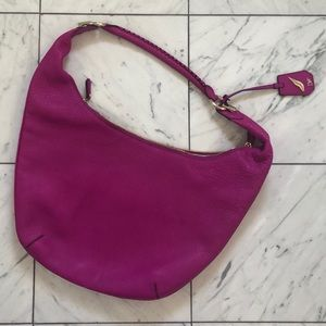 DVF hobo bag, fuchsia,